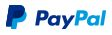 We accept payment via PayPal